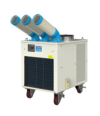 汽车工业领域怎么使用移动工业冷气机